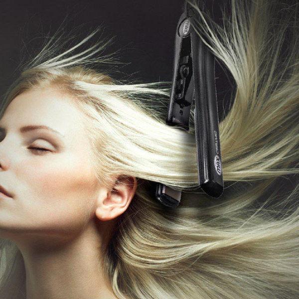 صاف کردن موی خیس