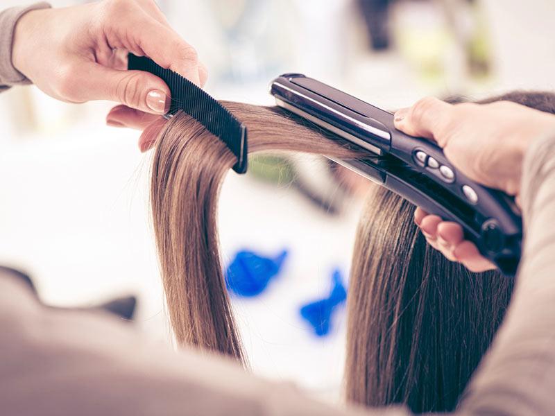 صاف کردن مو